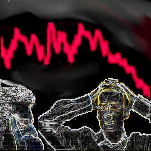 Les krachs boursiers s'expliquent en partie par des facteurs psychologiques (émotions, instinct, etc...) et non uniquement par une conjecture économique.